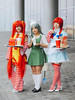 Co-op Ladies. (Nattawot Juttiwattananon (NJ)) Tags: macdonald starbucks wendy cosplay protrait anirevo animerevolution2017 vancouverconventioncentre