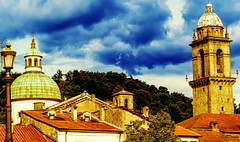 Cupole&Campanili in Pontremoli (danilocolombo69) Tags: danilo colombo pontremoli cupola campanile nikonclubit