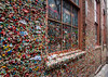 The Gum Wall (Kaylee Brendel) Tags: washington travel sticky color alley downtown city seattle building bricks wall gum