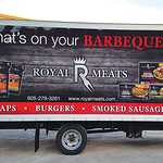 Straight Truck Honourable Mention: Royal Meats Products; graphics by MYC Graphics Inc.