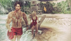 Baywatch (CalebBryant) Tags: secondlife sl beach baywatch turtlewatch lifeguard summer