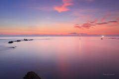 六塊厝漁港 (Lavender0302) Tags: 夕陽 六塊厝 屯山 淡水 新北市 台灣 taiwan sunset