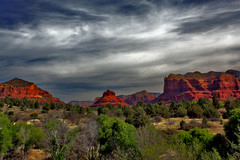 Sedona (oybay©) Tags: bell rock sedona arizona landmark geology geography southwest best hike climb nature beauty red tourist site butte sedimentary sandstone oak creek vortex trail walk earth sonoran desert formation science view landscape photography dramatic outdoor canyon sky