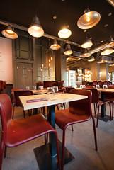 _DSC2130 (fdpdesign) Tags: pizzamaria pizzeria genova viacecchi foce italia italy design nikon d800 d200 furniture shopdesign industrial lampade arredo arredamento legno ferro abete tavoli sedie locali