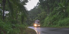 Rainy Road (Shibin Sasidharan) Tags: green road truck kerala rainy days transportation tree mode transport land vehicle nature growth outdoors day no people sky india gods own country trip nikon nikonphotography nikonphotographer d5300