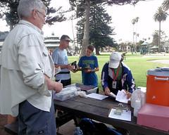 004 Clare And Joe At Registration (saschmitz_earthlink_net) Tags: 2017 california orienteering laoc losangelesorienteeringclub venturacounty ventura