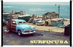 Surfin' USA (gpholtz) Tags: diorama miniatures 118 diecast ford 1949 woody