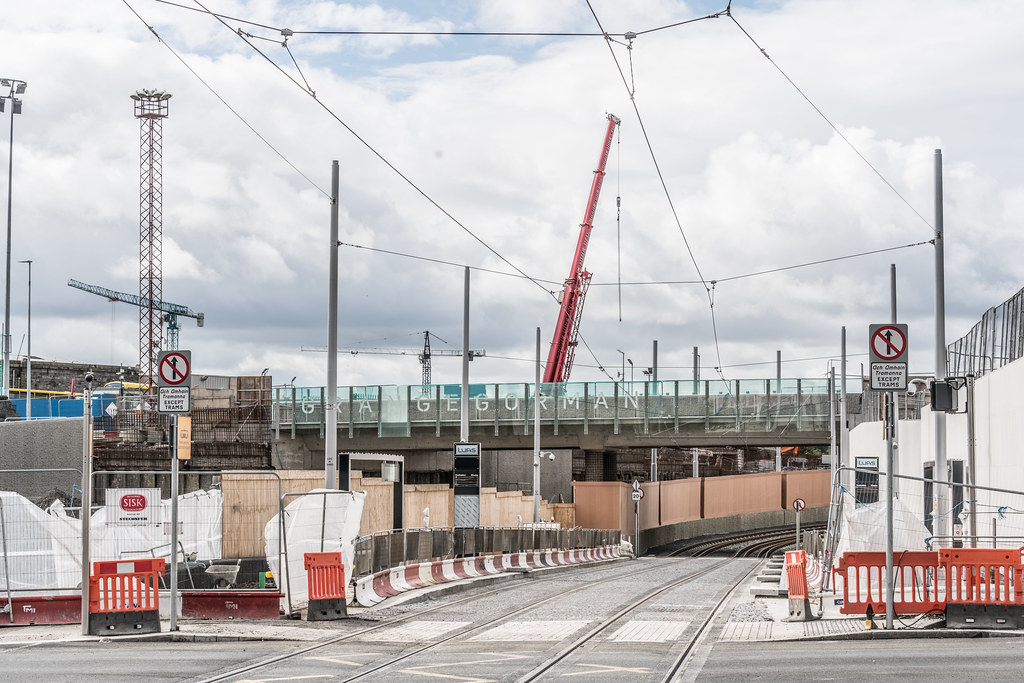 THE NEW LUAS TRAM STOP AT BROADSTONE [TESTING PHASE UNTIL EARLY DECEMBER]-1324717