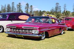 1959 Chevrolet Coupe (bri77uk) Tags: kiama rodrun chevrolet 59chevy