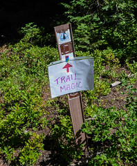 Trail Magic (ex_magician) Tags: 2017 pct klamathfalls oregon moik photo photos picture pictures image lightroom adobe adobelightroom interesting deadindianroad lakeofthewoods winemanationalforest fishlake brownmountain lavaflow pacificcresttrail brownmountaintrail trailmagic trailangel thruhiker sign