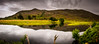 Glen Mullardoch Reflections (Mister Electron) Tags: nikond800 scotland highlands scottishhighlands glen mullardoch glenmullardoch reflections water heather landscape panoramic stitched montage moody brooding atmospheric cannich ultrawideangle wideangle