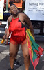 DSC_3120a Notting Hill Caribbean Carnival London Exotic Colourful Costume Showgirl Performer Aug 28 2017 Stunning Big Beautiful Woman BBW with Flag of Grenada (photographer695) Tags: notting hill caribbean carnival london exotic colourful costume showgirl performer aug 28 2017 stunning lady big beautiful woman bbw flag grenada