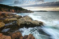 Monument Cove, Acadia National Park - Maine (pvarney3) Tags: acadianationalpark acadia maine acadiaphotography landscape seascape ocean hurricanharvey newengland sunrise