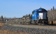 Loads for da Dump (GLC 392) Tags: seach light signal signals emd sd402 653 654 loaded tailing tailins train nsm noth shore mining railroad railway silver bay mn minnesota