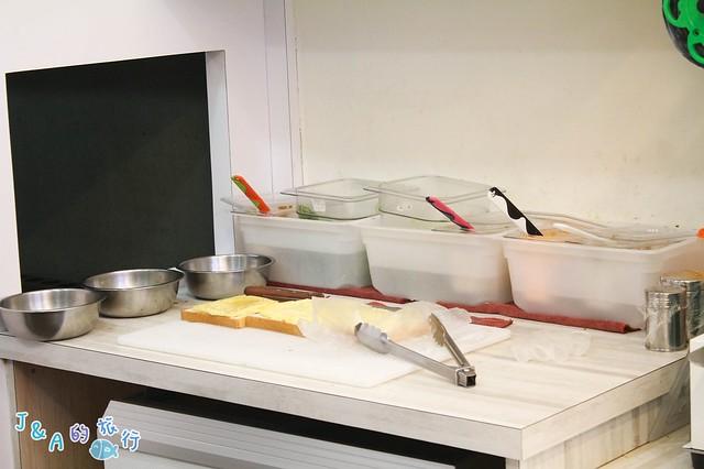 新開幕好野早餐 厚實明太子魚排三明治、鐵板牛肉塔香濃郁!【捷運公館美食/台大美食】 @J&A的旅行