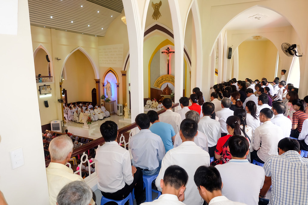 Thánh lễ tạ ơn khánh thành nhà thờ Hòa Cường – Giáo phận Đà Nẵng - Ảnh minh hoạ 49