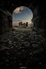 Castelluccio (SR): come d'incanto... (AndreaCT78) Tags: flickrsicilia castelluccio castello alba paesaggio cielo