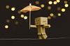 Week 37 Story: Balance (Berenice Calderón) Tags: balance berenicecalderon danbo danboard lights umbrella dogwood52 dogwood2017 dogwoodwekk37 bokeh