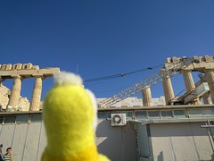 Swami at the Parthenon - Athens Greece (ashabot) Tags: