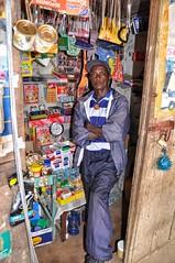 Village shopkeeper Sierra Leone