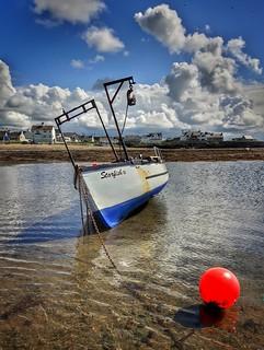 Fishing boat - Rhosneigr