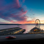 Seattle Waterfront Sunset thumbnail
