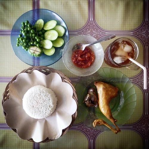Nasi Timbel Package @ Kiara Payung