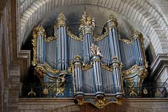 Pézenas (Hérault) : orgues de la Collégiale Saint-Jean (bernarddelefosse) Tags: orgues jeanfrançoislepine pézenas hérault languedoc