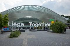 リエージュ・ギユマン駅 (GenJapan1986) Tags: 2017 ベルギー リエージュ リエージュ・ギユマン駅 旅行 liège fujifilmx70 belgium travel station