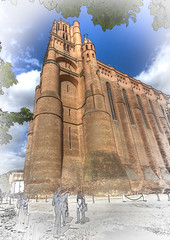 Cathedrale d'Albi (PhilHydePhotos) Tags: albi albigensians architecture buildings france southoffrance bâtiments