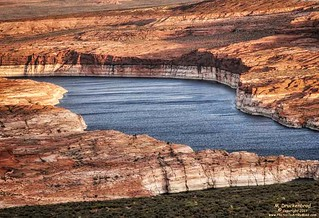 A View of Lake Powell, Page Arizona
