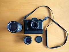 Mamiya ZM (zoltannagel) Tags: mamiya zm sekor e 28mm 35 50mm 17 80200 mm f 38 35mm film camera