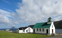 Sandvík (Jaedde & Sis) Tags: føroyar suðuroy sandvik church agcgsweepwinner 15challengeswinner challengeyouwinner mpt599 matchpointwinner