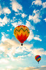 9.16.17 Balloonfest 12 Guttendorf (charlie_guttendorf) Tags: airshow ballon balloonfest guttendorf hotairballon hughesvillepa lycoming nikon nikond7000 bluesky colorful fall