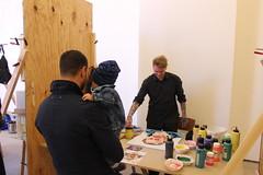 Sweat Shop @ Spinnerrundgang Herbst 2017 (ares64) Tags: kunst art arts galleryweekend leipzig gallery artworks berlin sweatshop arty