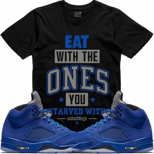 31e0828a465 Jordan 5 Blue Suede sneaker tees t-shirts (XGEAR101) Tags: air jordan