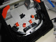SHIPtember 2017 Finial WIP Session 26d (DJ Quest) Tags: shiptember 2017 finial wip session 26 spyrius space ship moc bridge section work