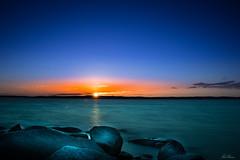 Roxen Ekängen Sunset (bobban25) Tags: sky water sunset roxen ekängen lake sjö canon eos 80d efs18135mm f3556 is stm leegradnd09soft lee nd09 soft leefilters bigstopper longexposure flamboyant gaudy sun sol solnedgång canonefs18135 linköping östergötland sverige sweden scandinavia canoneos80d canon80d spectacular colorful färggrann blue blå orange lightroom