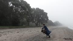 P1450212 (Christen Ann Photography) Tags: cosplay newt newtscamander fantasticbeasts harrypotter potterhead photography portrait beach fog weather 2017 photoshoot cosplayphotoshoot auckland newzealand mist potter magical