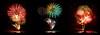 2017-07 - Feux d'artifices à Mandelieu (g_dubois_fr) Tags: feu artifice fireworks triptyque triptych cote dazur french riviera