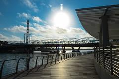 Marina Bay - Singapore (Theo Crazzolara) Tags: marinabay marina bay singapore singapur city sun contrast flyer asia