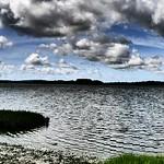 Lytchett Bay with 'Impressive Art' in-camera filter. thumbnail