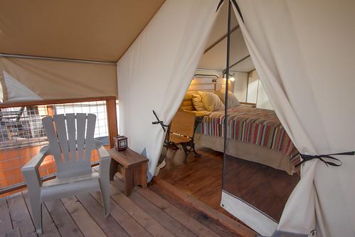Inn Town Campground Davis Tent