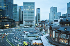 Tokyo Station (Pop_narute) Tags: tokyo japan station city cityscape urban building architecture street