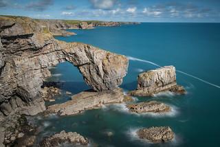 The Green Bridge of Wales
