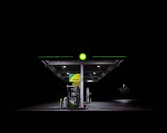 BP, Farnham Bypass (Dan Parratt) Tags: nightphotography nightphoto night nightfoto nighttime film mamiya mamiyarz67 rz67 rz67proii kodak kodakportra400 portra400 portra twentysixgasolinestations 26gasolinestations 26gasstations twentysixgasstations edruscha