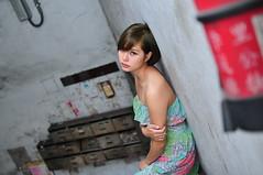 Sandy2048 (Mike (JPG直出~ 這就是我的忍道XD)) Tags: sandy 環南公寓 d300 model beauty 外拍 portrait 2014 大白免