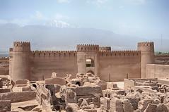 Ciudadela de Rayen, Irán (kaplan10) Tags: murallas rutadelaseda ciudadela fotaleza adobe kerman iran desierto bam rayen