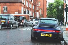 Carrera (Mattia Manzini Photography) Tags: porsche carrera supercar supercars car cars carspotting nikon london knightsbridge rain wet automotive automobili auto blue harrods