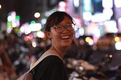 Happiness - Kaohsiung (Chapo78) Tags: taiwan kaohsiung smile night nightlife girl spontaneous